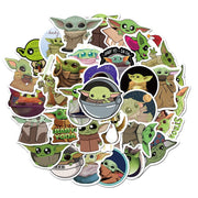 Baby Yoda Sticker (50pcs) - Epic Stickerz