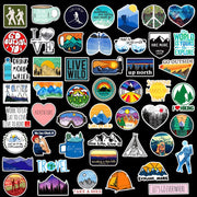 Outdoor Adventure Stickers (50PCS) - Epic Stickerz