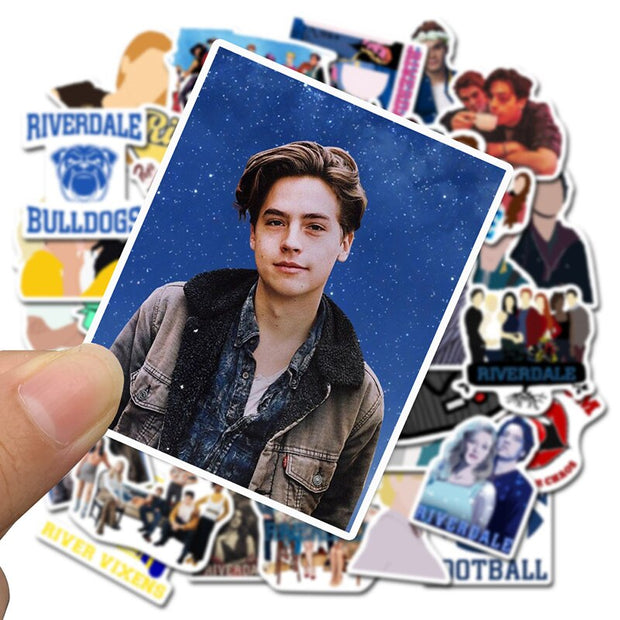 Vinyl riverdale stickers