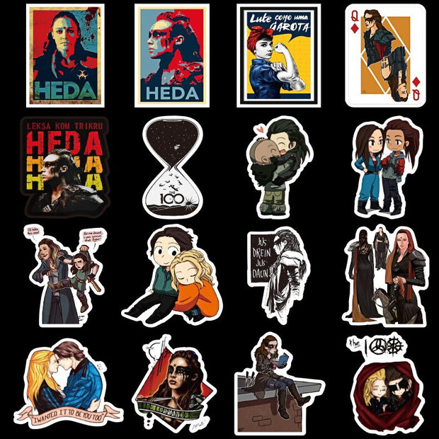 The 100 Stickers (50pcs) - Epic Stickerz