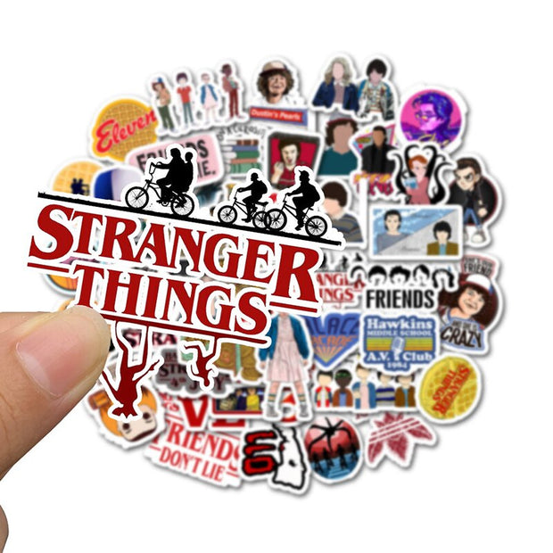Stranger Things Stickers (50pcs) - Epic Stickerz