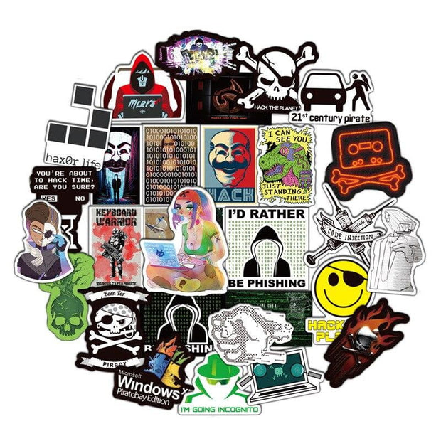 Pentester Stickers (50pcs) - Epic Stickerz