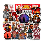 Red Dead Redemption Stickers 50 pieces
