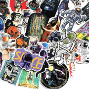 Astronaut stickers pack