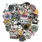 Rock Bands Stickers (60pcs) - Epic Stickerz