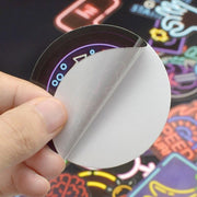 Neon Light Sticker v2.0 (50pcs) - Epic Stickerz