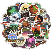 Camping Landscape Sticker (50pcs) - Epic Stickerz