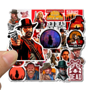 Red Dead Redemption Waterproof Stickers