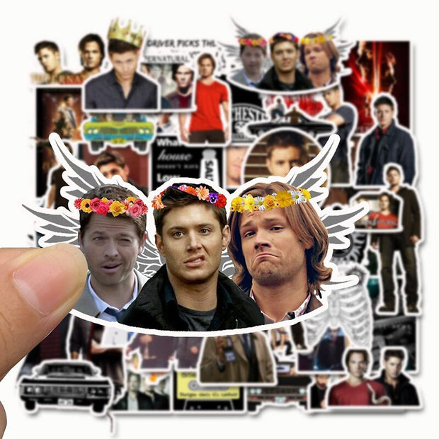 Supernatural Stickers (50pcs) - Epic Stickerz