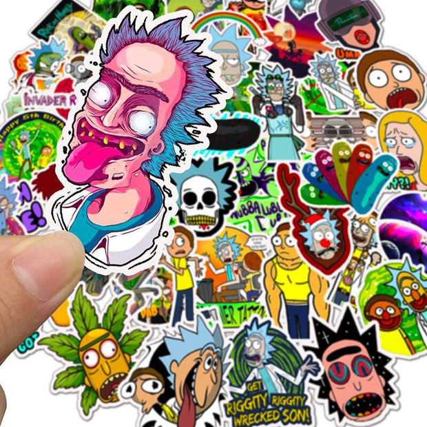 Buy rick and morty stickers online