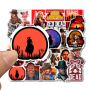 Red Dead Redemption Stickers international shipping
