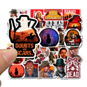 Vinyl Red Dead Redemption Stickers