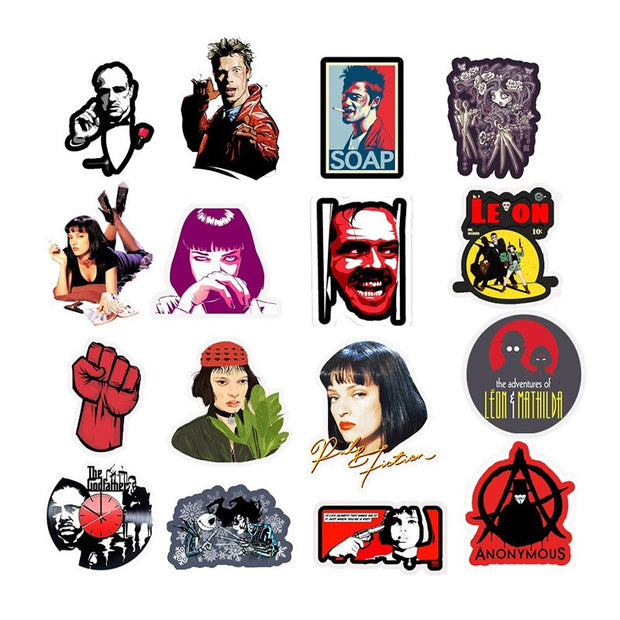 Classic Movies Stickers - Epic Stickerz