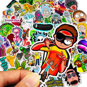 Morty stickers 50 pieces