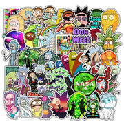 Rick sanchez Morty stickers