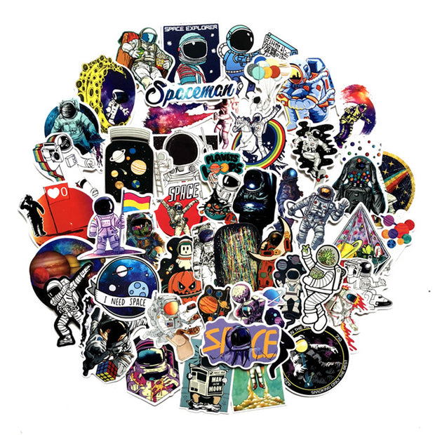 Outer Space Stickers  (50pcs) - Epic Stickerz