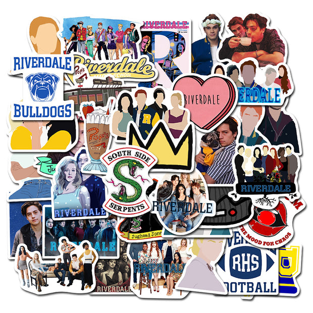 Waterproof riverdale stickers