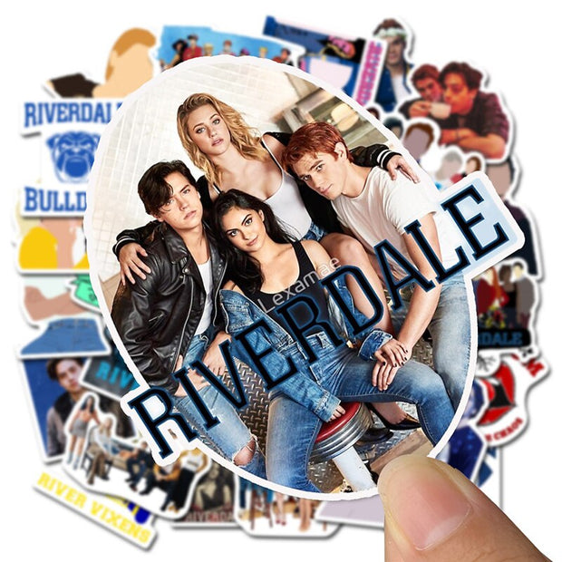 Riverdale Stickers 50 pieces