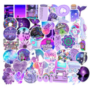 Purple Graffiti Cool Stickers (50pcs) - Epic Stickerz