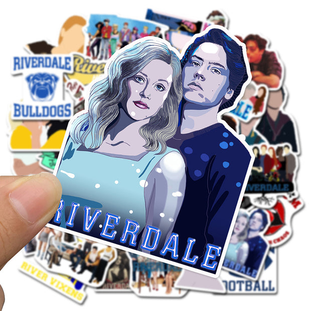 Riverdale Stickers 50 pieces Worldwide & international  shipping