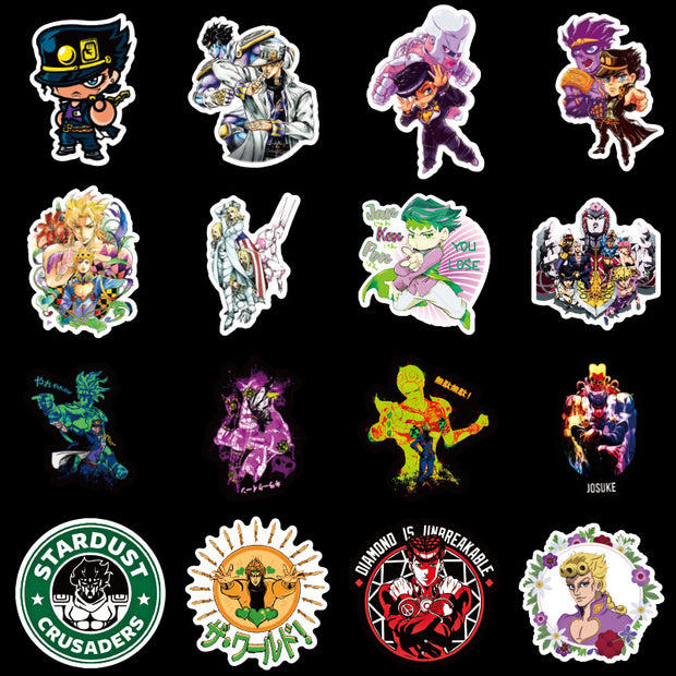 JoJos Bizzare Adventure Sticker (50pcs) - Epic Stickerz
