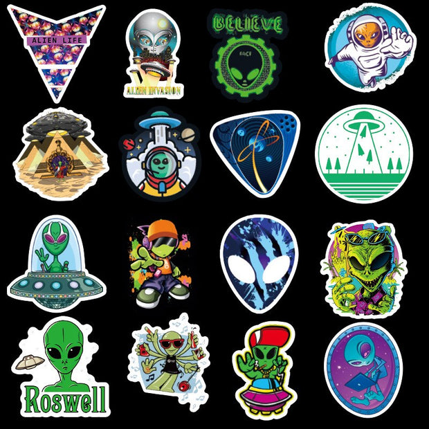 Area51 Stickers (50pcs) - Epic Stickerz