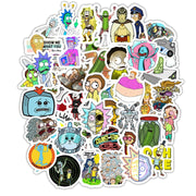 Rick and Morty Stickers 50 pieces v2.0