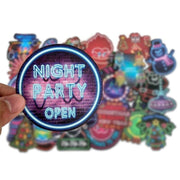 Christmas Neon Pack Stickers (50pcs) - Epic Stickerz