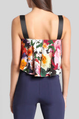 Floral Nuri Cropped Top · Final Sale