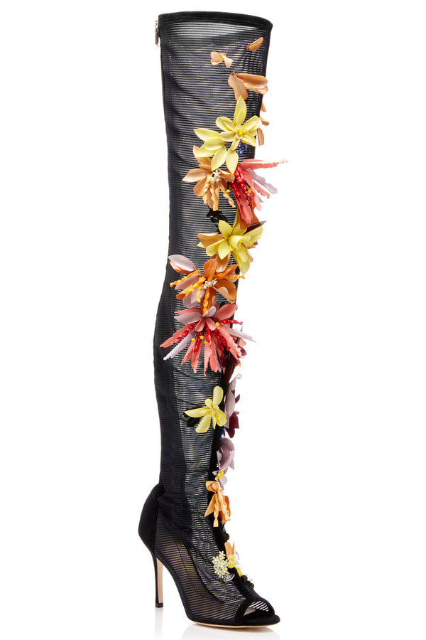 Embellished Emilio Over-The-Knee Boot  · Final Sale
