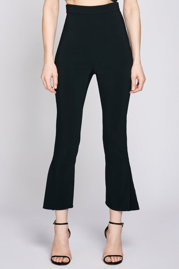 Black High Waisted Cropped Pant · Final Sale