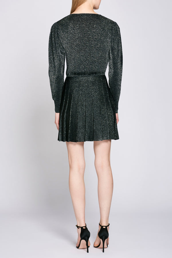 Black Long Sleeve Mini Dress · Final Sale