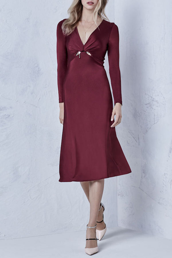 Auburn Magdalena Long Sleeved Dress · Final Sale