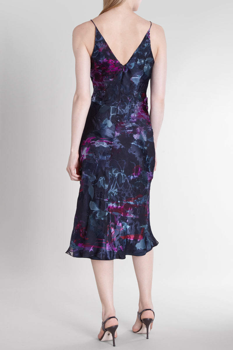 Melted Floral Vienna Dress · Final Sale