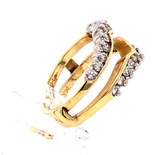 Load image into Gallery viewer, 14 Karat Yellow Gold Ring with Diamonds