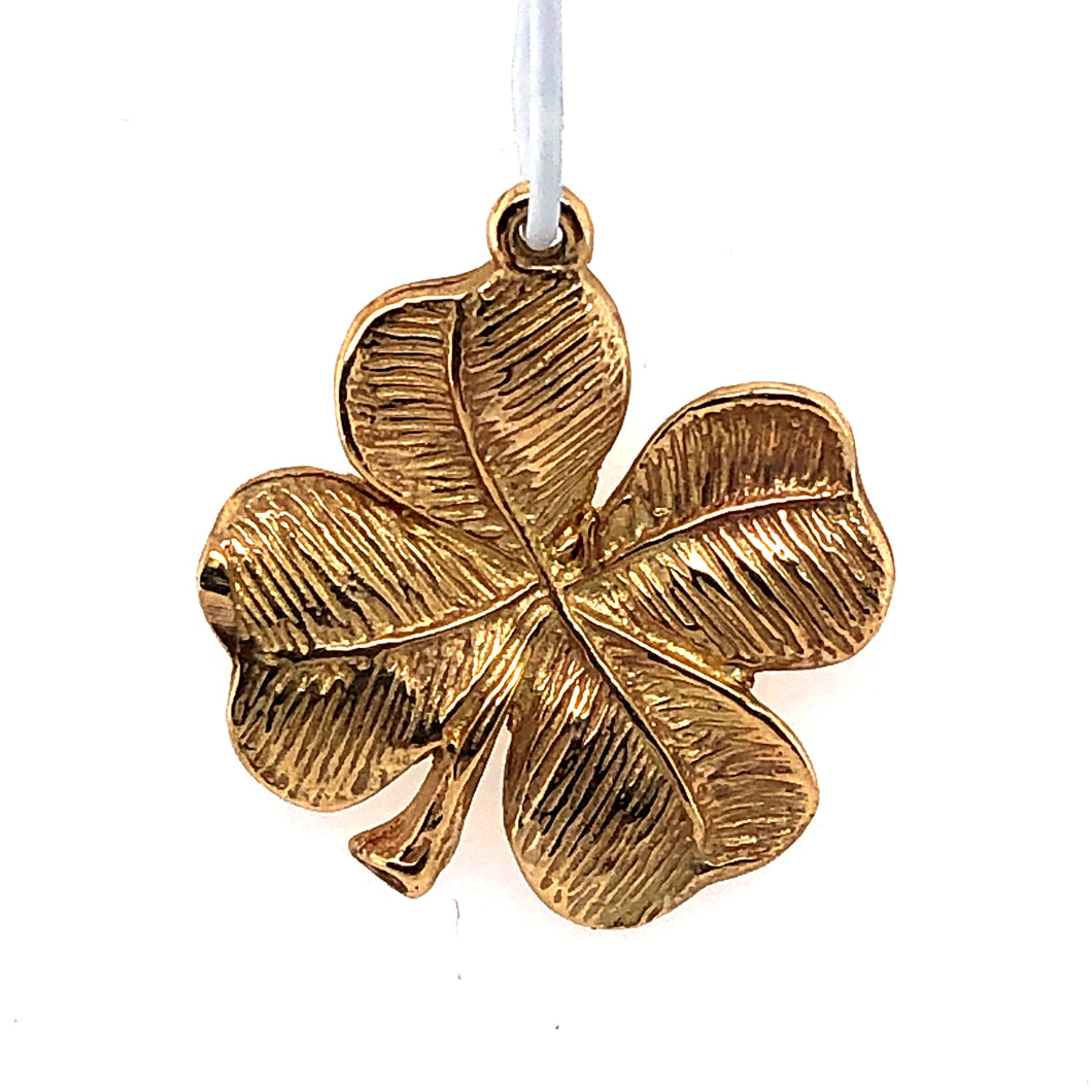 14 Karat Yellow Gold Charm