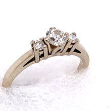 Load image into Gallery viewer, 14 Karat White Gold Ring with Diamonds