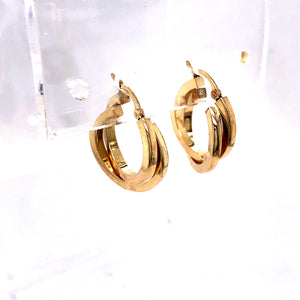 14 Karat Yellow Gold Earrings