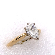 Load image into Gallery viewer, 14 Karat Yellow Gold Ring with Diamond