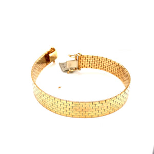 14 Karat Yellow Gold Bracelet