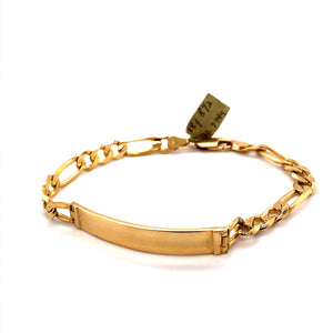 18 Karat Yellow Gold Bracelet