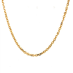 14 Karat Yellow Gold Chain