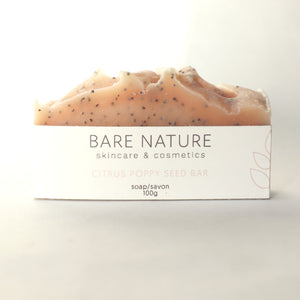 Citrus and Poppy Seed Bar Soap