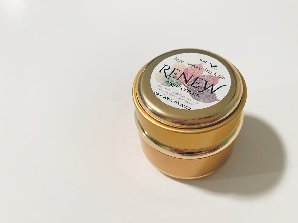 RENEW Night Balm Gold Jar