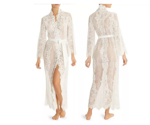 lace duster robe