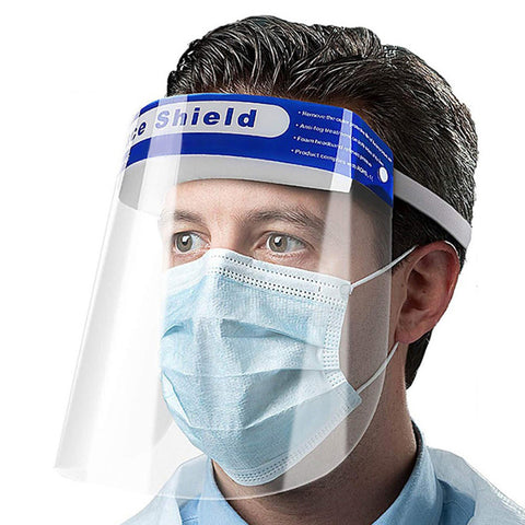 Safety Face Shield (Pack of 5)