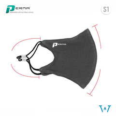 3-Pack Perma Cloth Mask - Freesize (Adjustable Straps)