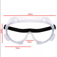 5 Pack - Medical Use Safety Goggles