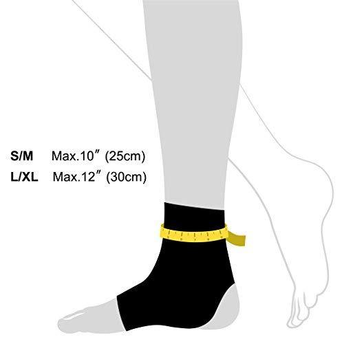 FP30 Ankle Brace size guide