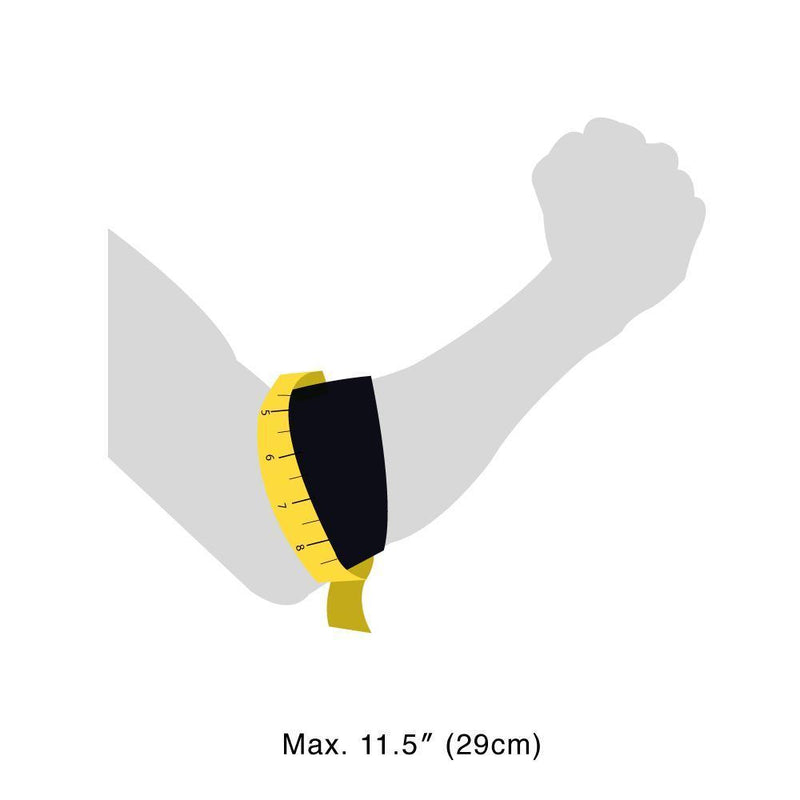 EP40 Elbow Strap size guide